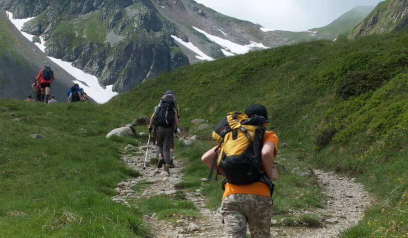 8cb4e65fe Mont Blanc Family Walk - France to Italy - 7 Days